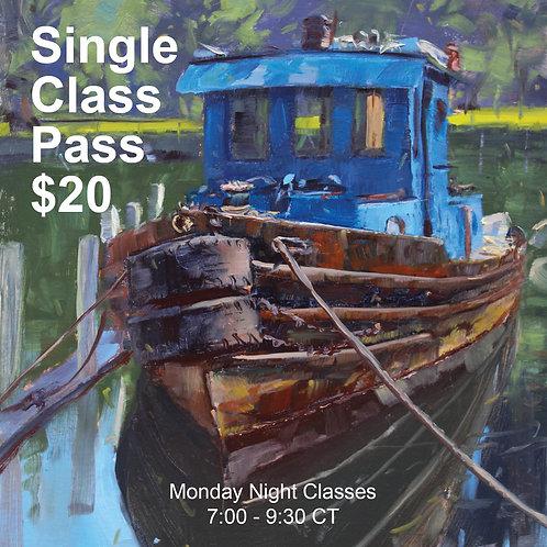 Monday Nights Single Class Pass