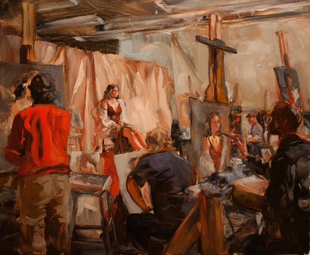 The Painting Studio