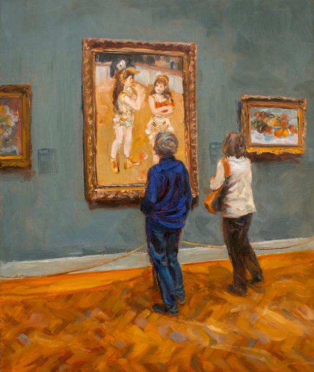 Looking at Renoir