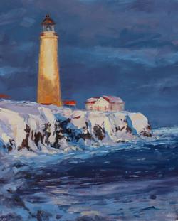 Winter's Lighthouse
