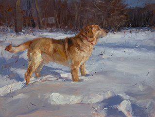 My Last Dog Painting of My Dog Day Challenge