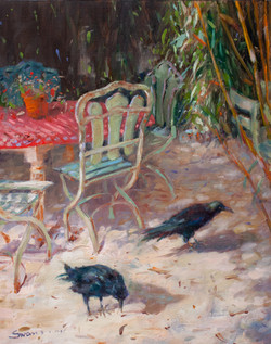 Giverny Crows