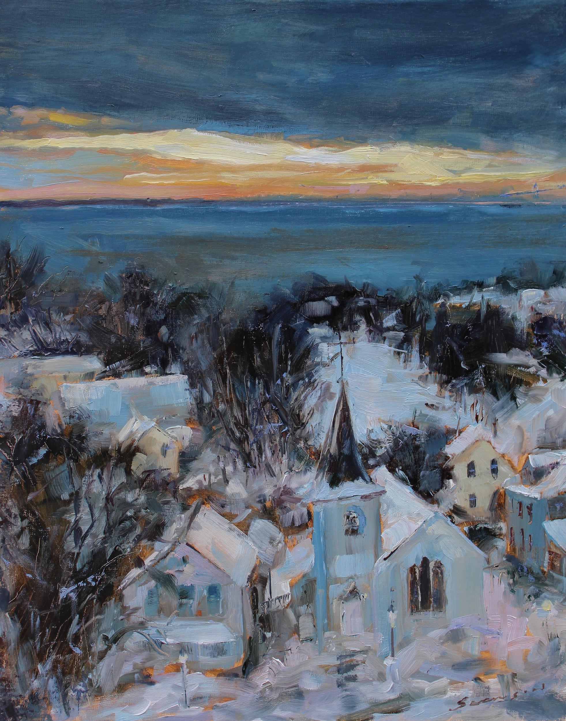 Mackinac Snow