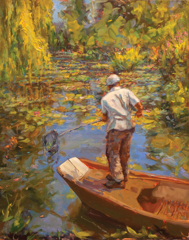 Monet's Lilly Pond Keeper