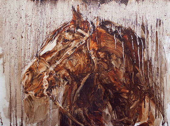 Horse in Oil