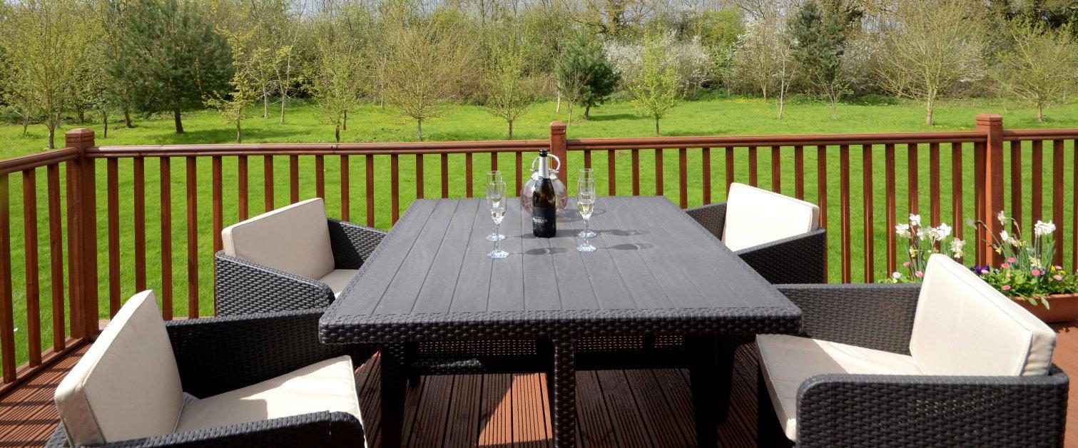 Lodge terrace