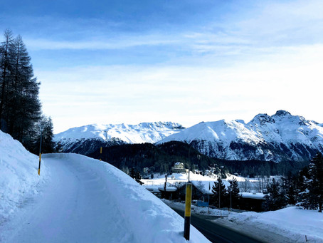 Greetings from St. Moritz