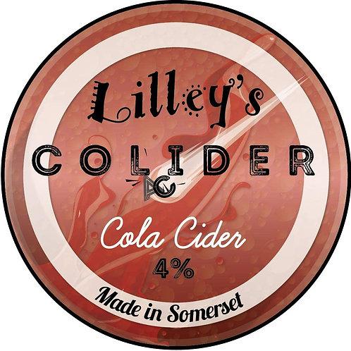 Lilley's Sparkling Cola Colider Cider 4.0% (2 pints)