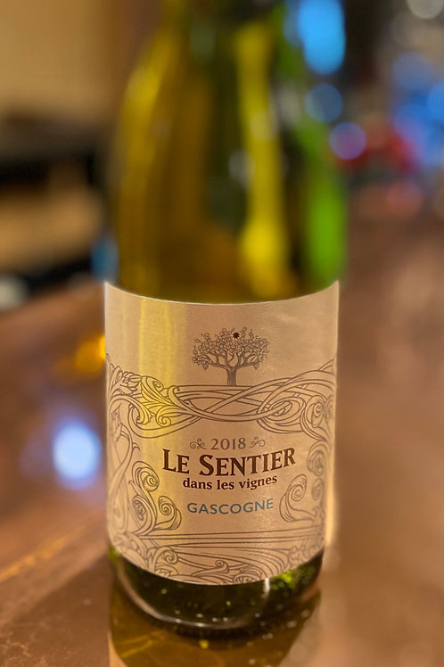 Le Sentier Blanc, France Bottle