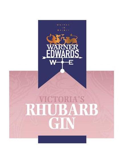Warner Edwards Rhubarb Gin 40% 200ml