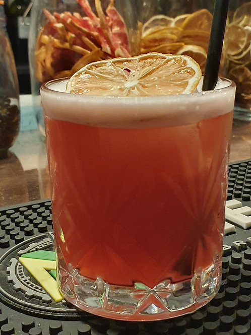 Strawberry Sour Mix 500ml