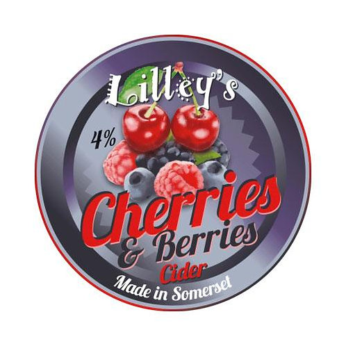 Lilley's Sparkling Cherries & Berries Cider 4.0% (2 pints)