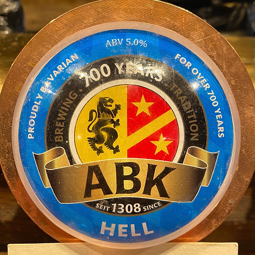ABK Hell Lager 5.0% (2 Pints)
