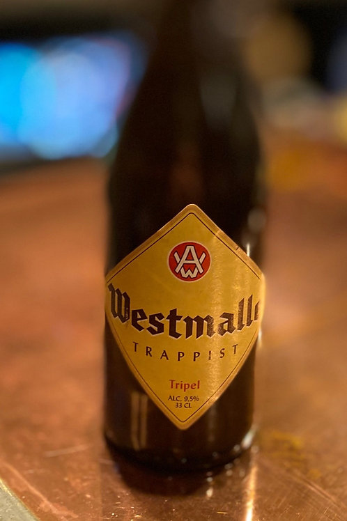 Westmalle Tripel 9.5% 33cl BBE 27.05.21