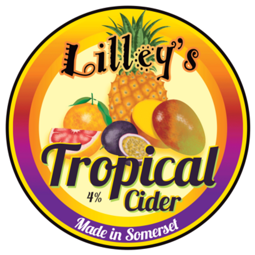 Lilley's Still Cider Tropical (2 pints)