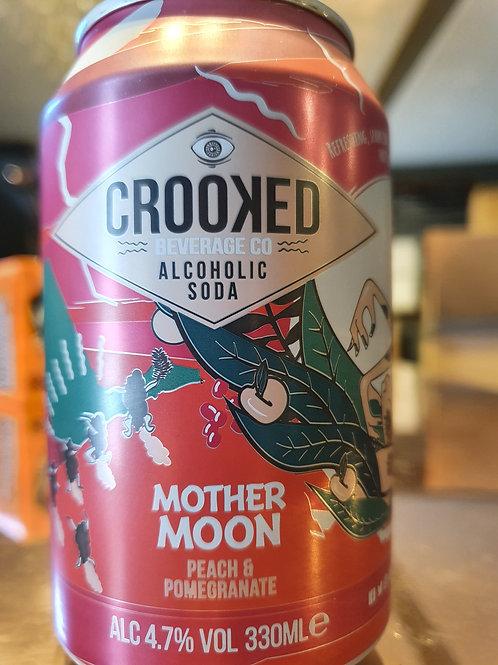 Crooked Peach & Pomegranate 4.7%