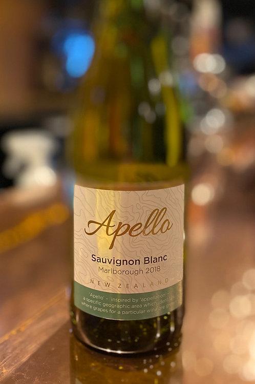 Apello Sauvignon Blanc, Marlborough Bottle
