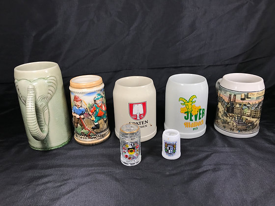 Collection of German Drinking Mugs