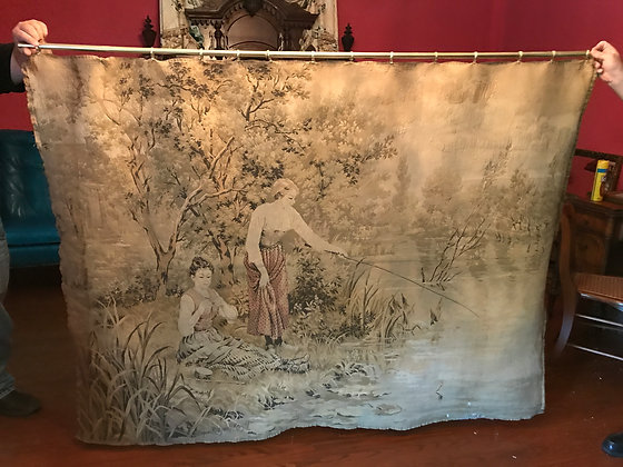 Antique Decorative Tapestry