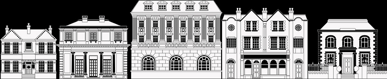 posh-smart-row-of-buildings-vector-id125