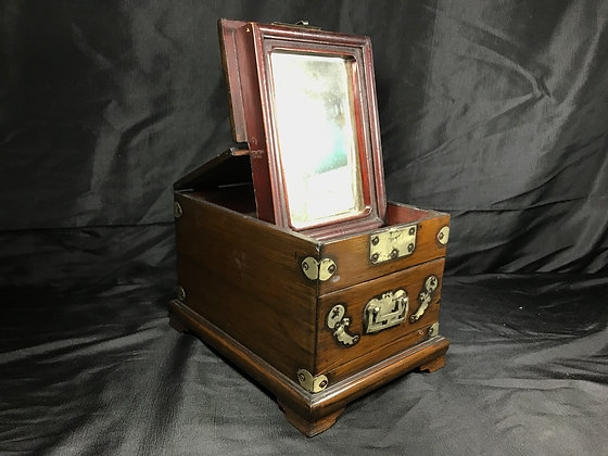 Antique Chinese Mirror Box