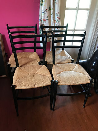 MCM Set of Otto Gerdau Co. Spinetto Dining Chairs