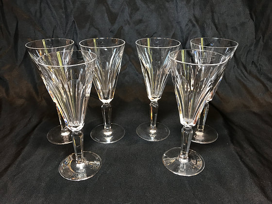 """Set of Waterford """"Sheila"""" Fluted Champagnes"""