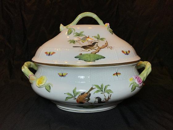 """Herend """"Rothschild Bird"""" Soup Tureen"""
