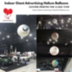 Indoor Custom Advertising Helium Balloon Supplier