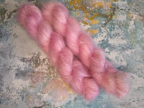 Rose Petal, Mohair Silk Lace
