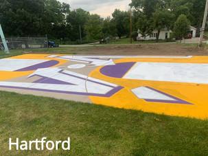 Hartford brightens things up!