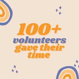 We run on volunteers!