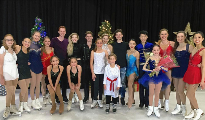 Holiday Show Group Photo