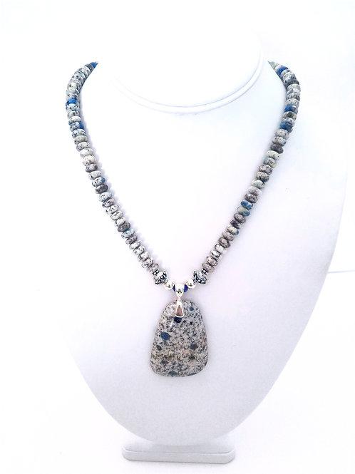 K2 Jasper Pendant Necklace