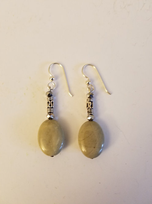 AMERICAN PICTURE JASPER EARRINGS