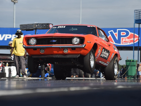 Curt Jr. goes a few rounds during NHRA Double Weekend at Rockingham Dragway