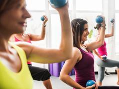 Light Weight Aerobics Class