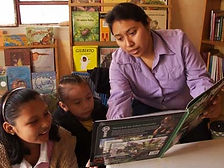 Students learning in Proyecto Itzaes in Yucatan