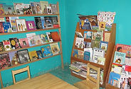 Bookshelves in Proyecto Itzaes in the Yucatan