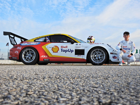 Barr to Make His American Racing Debut with JDX Racing in the Porsche GT3 Cup USA