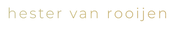 logo hester - alleen letters - transpara