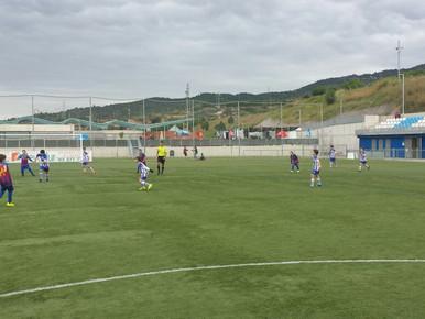 Alevín F 0-6 Peña Barcelonista de San Vicente
