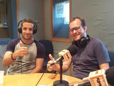Radio Sant Feliu | Entrevista a Álex Bolaños