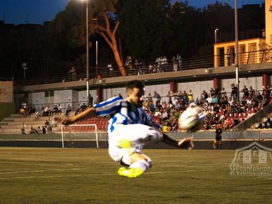 Empujemos juntos. Este sábado a las 18 horas vivamos los mejores días del fútbol en Sant Feliu