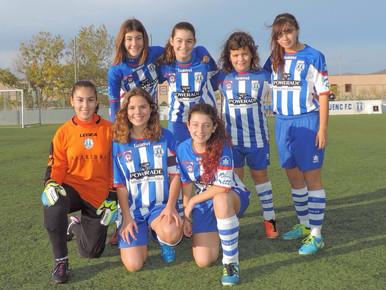 Infantil/alevín femenino 5-1 FC Odena