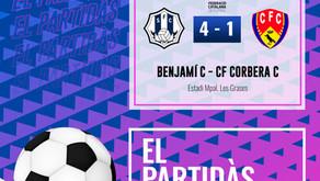 Benjamín C 4-1 CF Corbera C