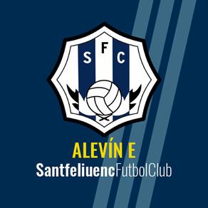 Alevín E 4-4 Sporting Gavá C