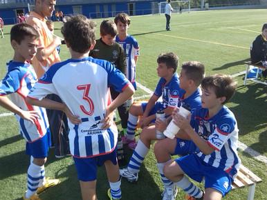 Alevin F 1 - 8 Sporting Gava A