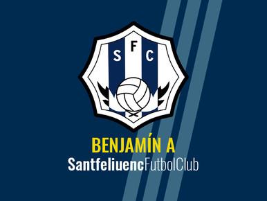 CE L'Hospitalet A 1-1 Benjamín A