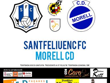 El Santfeliuenc - Morell es veurà a tot Catalunya